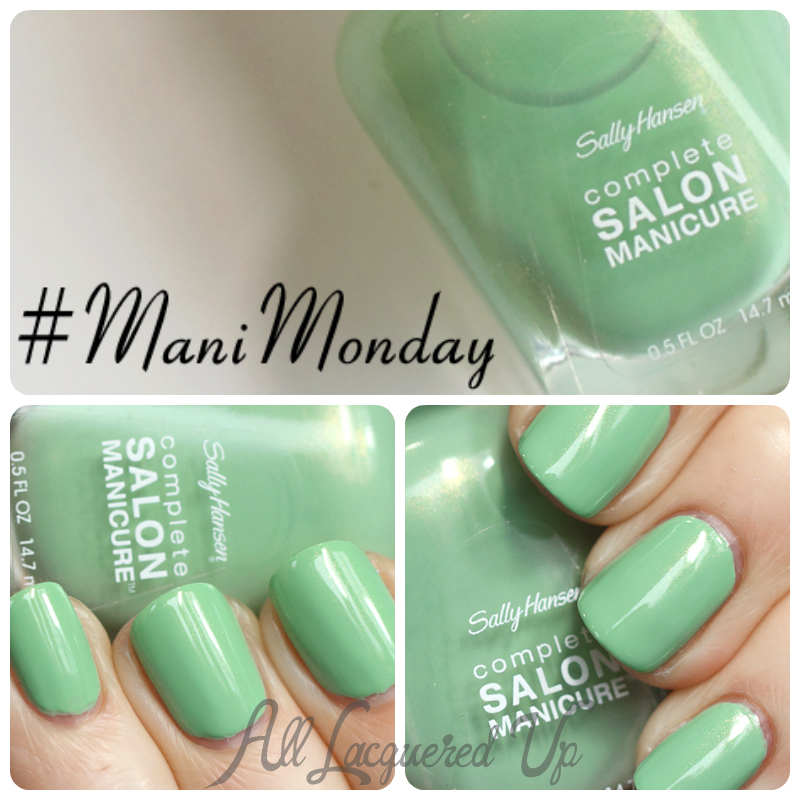 #ManiMonday Sally Hansen Piqué Side swatch
