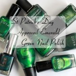 St Patrick's Day Emerald Green Nail Polish