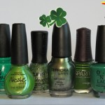 St Patrick's Day green nail polish