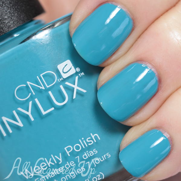 CND Cerulean Sea VINYLUX swatch - Summer 2014