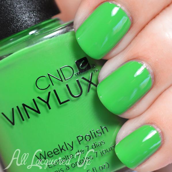 CND Lush Tropics VINYLUX swatch - Summer 2014