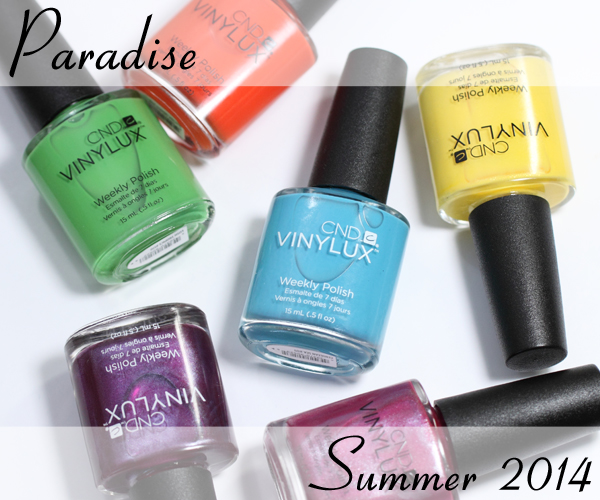 CND Paradise VINYLUX for Summer 2014