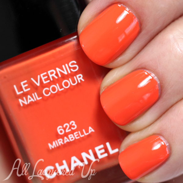 Chanel Mirabella swatch - Summer 2014