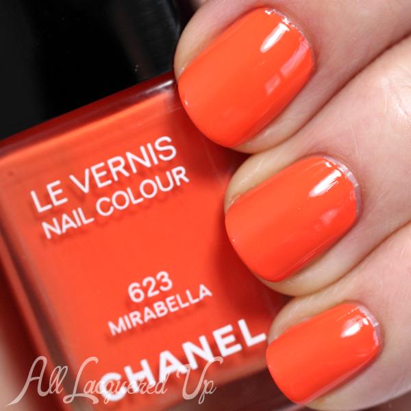 Chanel Mirabella swatch - Summer 2014