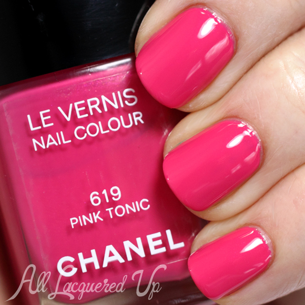 Chanel Pink Tonic swatch - Summer 2014