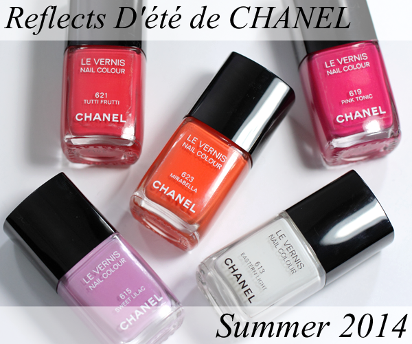 CHANEL Summer 2014 Nail Polish from Reflets D'Été de ...