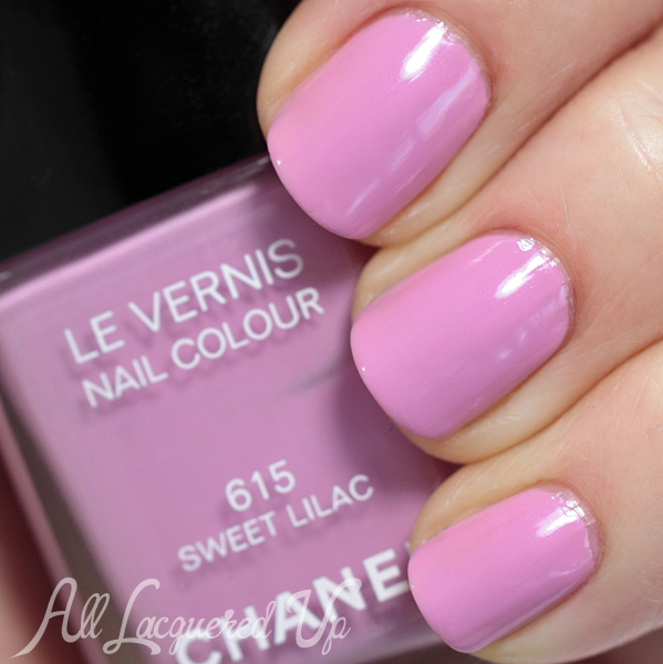 Chanel Sweet Lilac swatch - Summer 2014