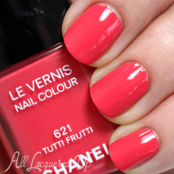 Chanel Tutti Frutti swatch - Summer 2014