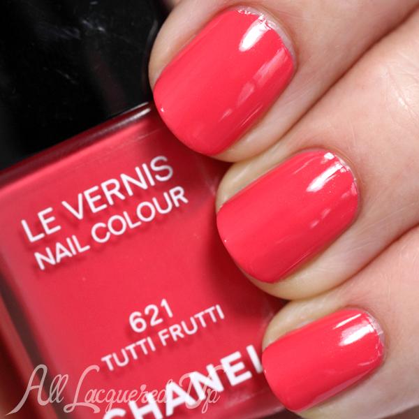 Chanel Tutti Frutti swatch - Summer 2014