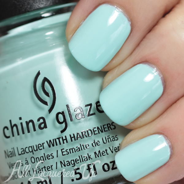 China Glaze At Vase Value swatch - Spring 2014
