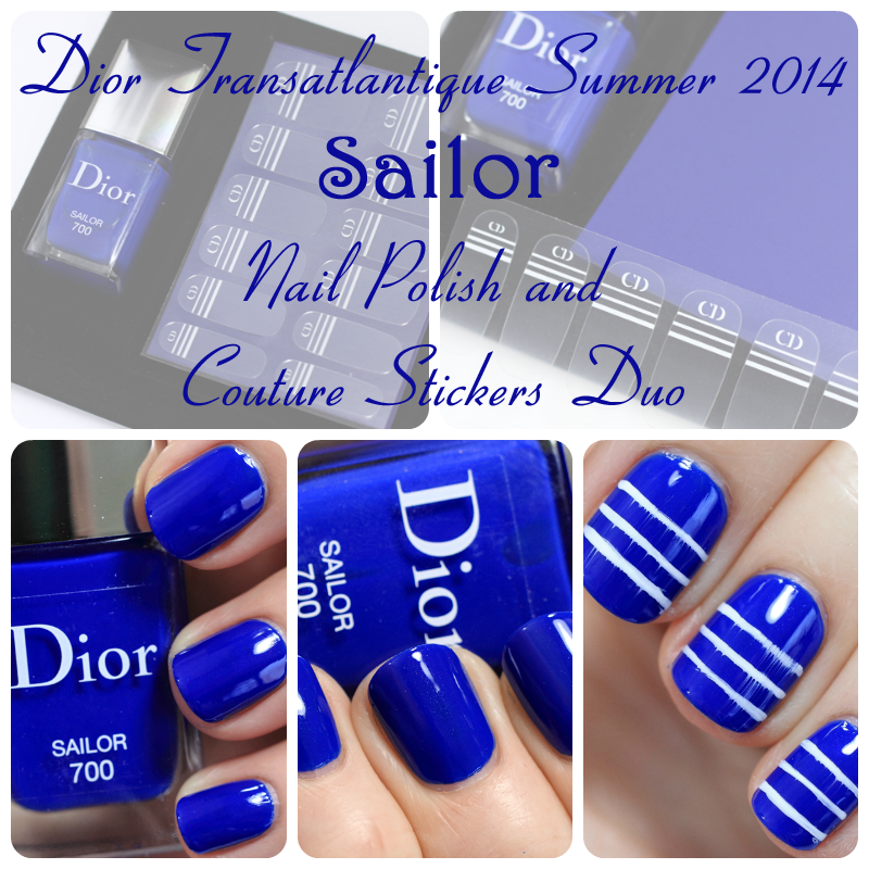 Dior Sailor from the Summer 2014 Transatlantique collection