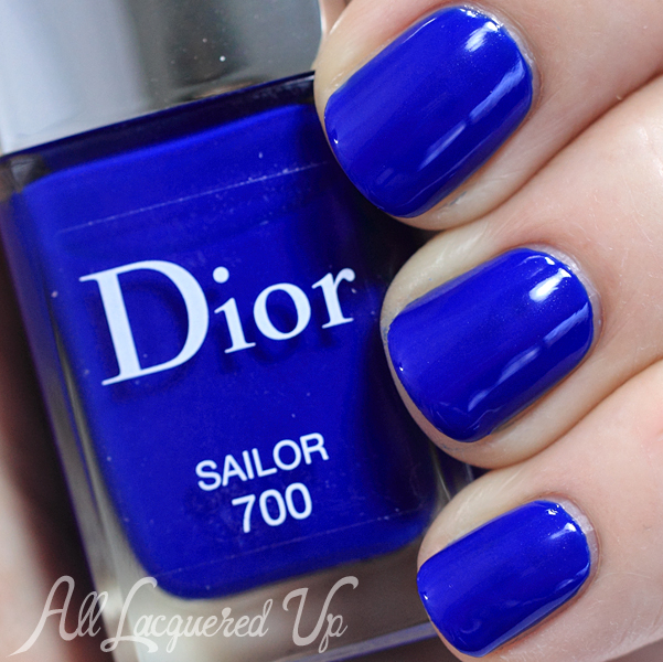 Dior Sailor nail polish swatch