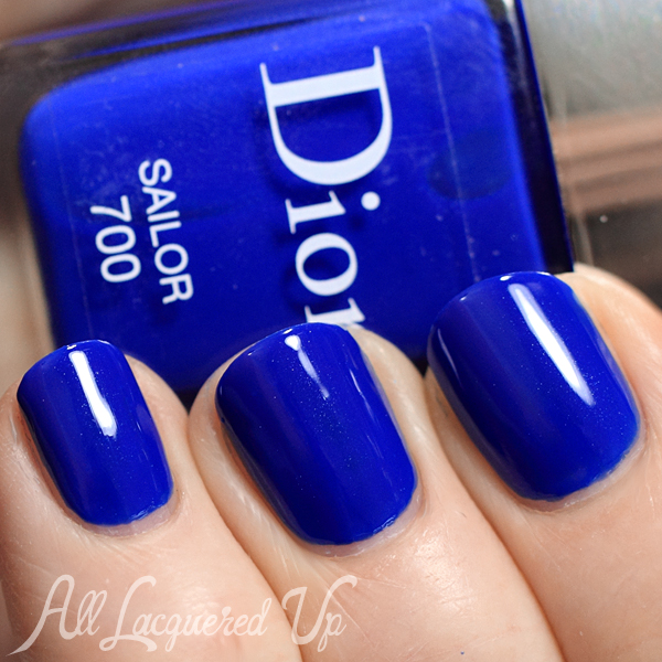 Dior Summer 2014 Manucure Transat - Sailor