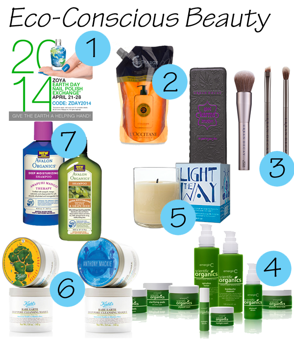Earth Day Beauty Products 2014