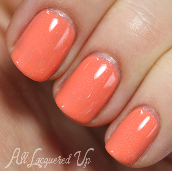 Essie Resort Fling layering swatch #EssieLook