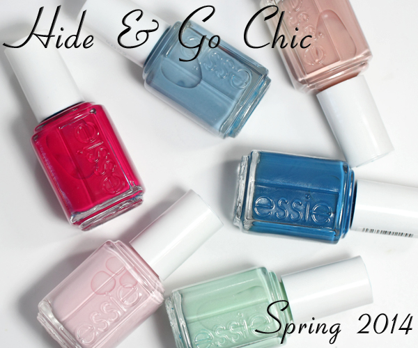 Essie Spring 2014 nail polish collection