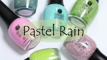 FingerPaints Pastel Rain for Spring 2014 – Swatches & Review