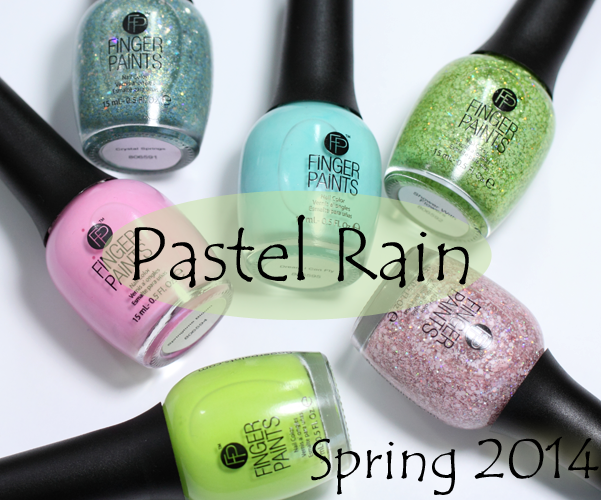 FingerPaints Pastel Rain for Spring 2014