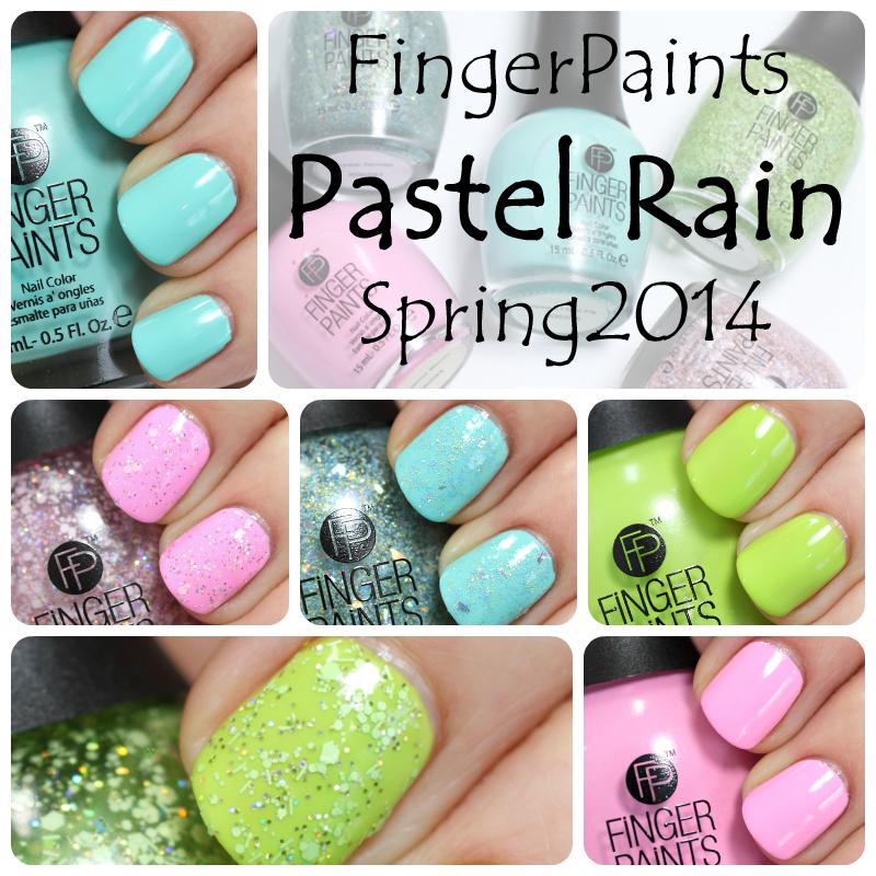 FingerPaints Spring 2014 - Pastel-Rain