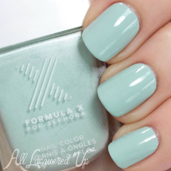 Nail The Trend - Mint Green Nail Polish for Spring : All Lacquered Up
