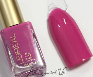 L'Oreal Lacquer-ized Nail Polish Swatch