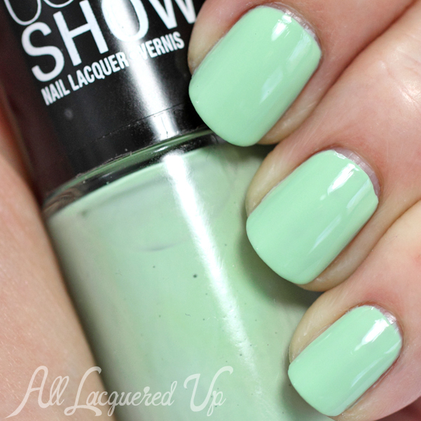 Maybelline Green With Envy swatch