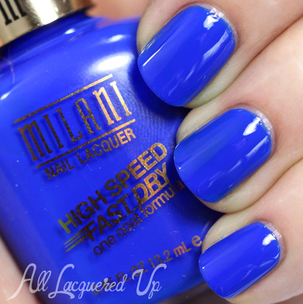 Milani Blue Zoom swatch