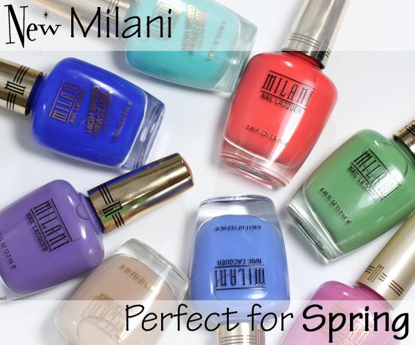 Milani Spring 2014 nail polish