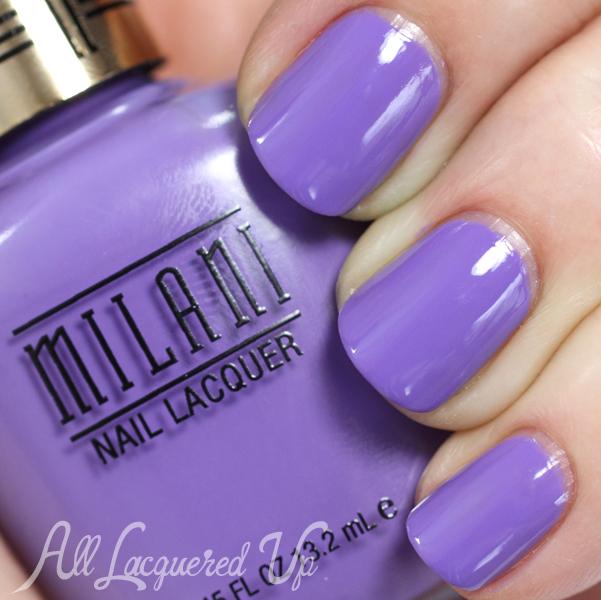 Milani Vivid Violet swatch