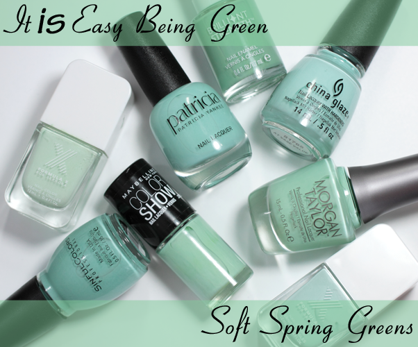 Mint Spring Green Nail Polish
