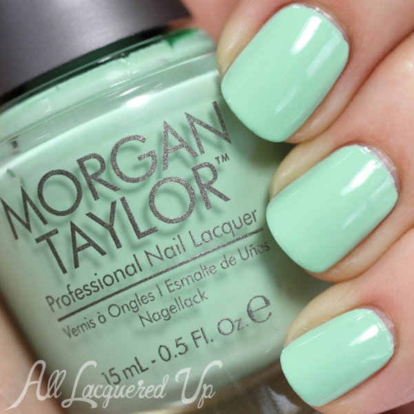 Morgan Taylor Mint Chocolate Chip swatch