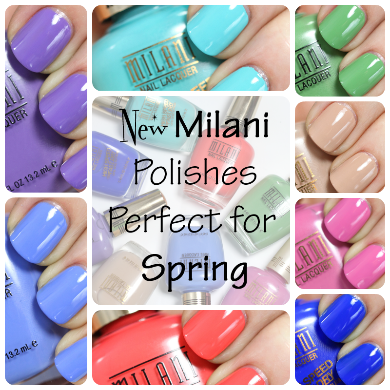 New Milani Spring 2014 nail polish
