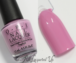 OPI Lucky Lucky Lavender Swatch