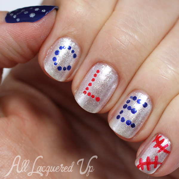 Opi Mlb Collection Nail Art For The Cleveland Indians Rolltribe