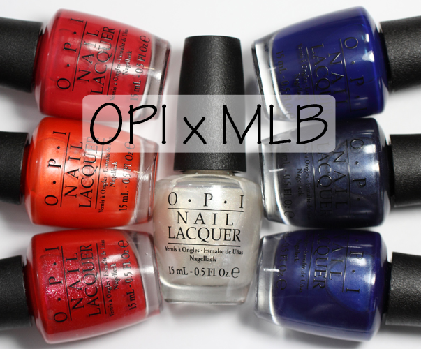 OPI MLB Nail Polish Collection Spring 2014