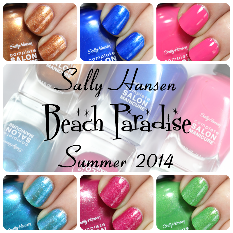 Sally Hansen Beach Paradise CSM - Summer 2014