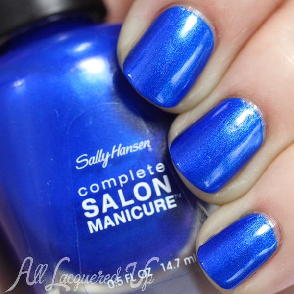 Sally Hansen Blue Crush swatch - Summer 2014
