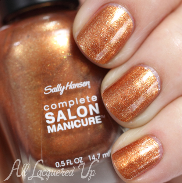 Sally Hansen Copper swatch - Summer 2014