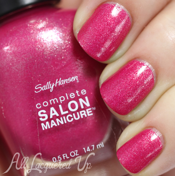 Sally Hansen Leis-y Days swatch - Summer 2014 via @alllacqueredup