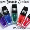 Sally Hansen Palm Beach Jellies Skittles for #ManiMonday