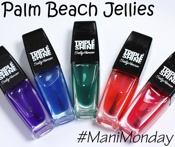 Sally Hansen Palm Beach Jellies - Summer 2014