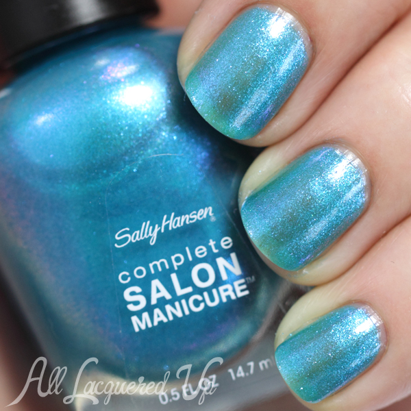 Sally Hansen Searsucker swatch - Summer 2014