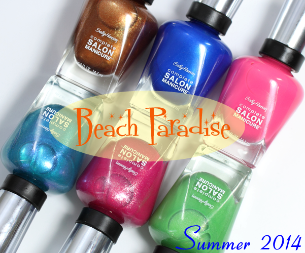 Sally Hansen Summer 2014 CSM Beach Paradise