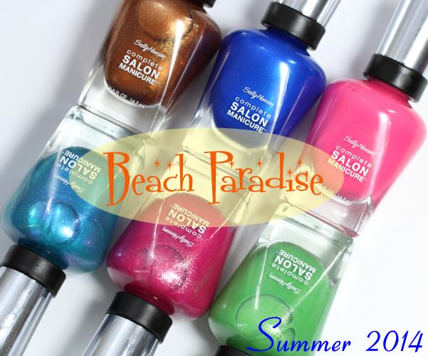Sally Hansen Summer 2014 CSM Beach Paradise