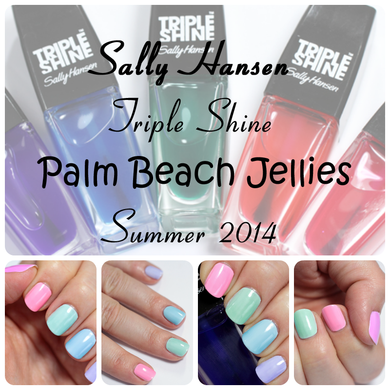 Sally Hansen Summer 2014 Palm Beach Jellies