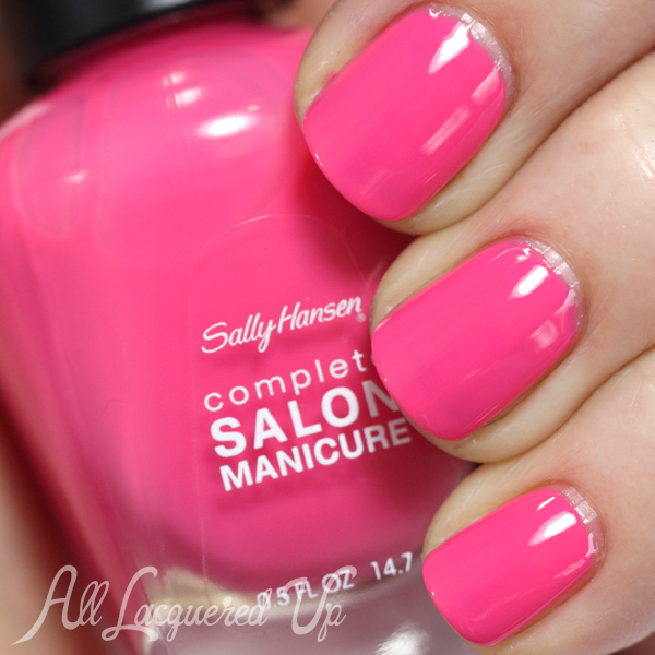 Sally Hansen Summer Lovin' swatch - Summer 2014