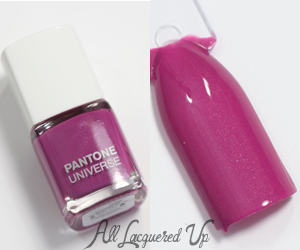 Sephora + Pantone Universe Radiant Orchid Nail Swatch
