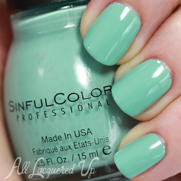 Sinful Colors Nice Stems swatch - Spring 2014