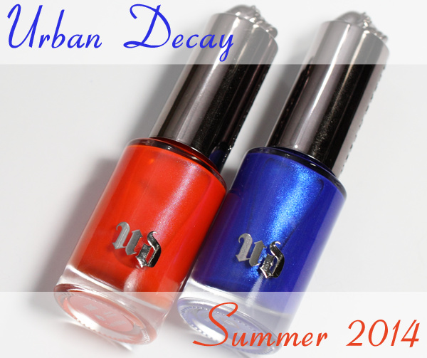 Urban Decay Bang and Chaos Nail Polish for Summer 2014
