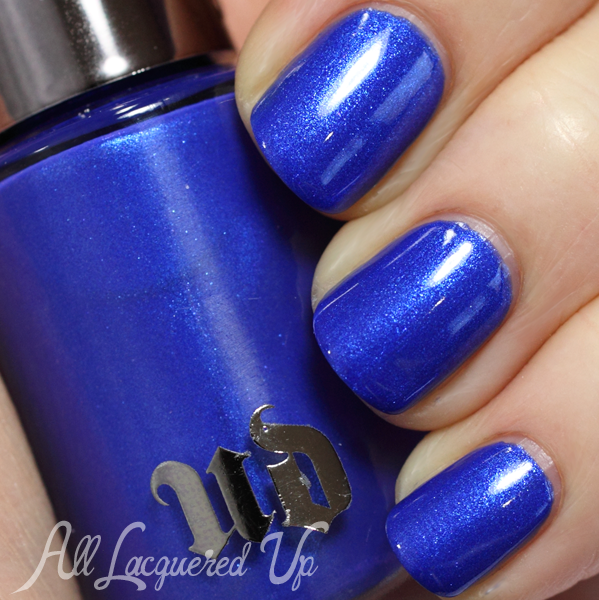 Urban Decay Chaos nail swatch for Summer 2014 via @alllacqueredup